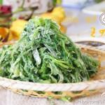 粉蒸面条菜(春季减肥养生美味)