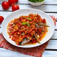 剁椒鱼头和剁椒鱼片