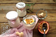 百香果酸奶