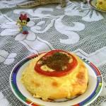 番茄奶酪面包