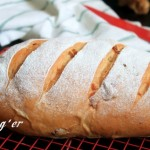 全麥紅糖桂圓面包