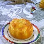 南瓜奶酪面包