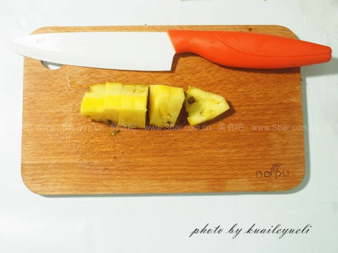 如何切菠萝