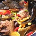 低脂高钙海带排骨汤(处理新鲜海带的方子)