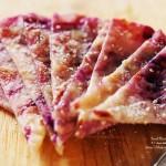 香煎紫薯薄饼