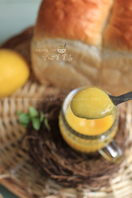 清新柠檬凝乳(无黄油)
