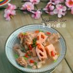 蓮藕排骨湯(清熱消痰,補血養顏)