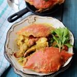 椰香咖喱蟹