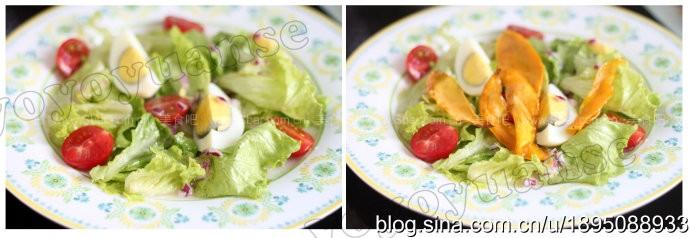 鸡蛋蔬菜沙拉