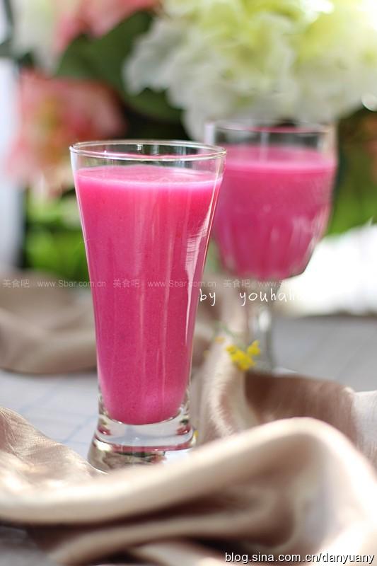 火龙果皮汁