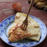 杏仁香蕉薄饼(电饼铛)