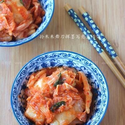 快速腌制辣白菜的方法