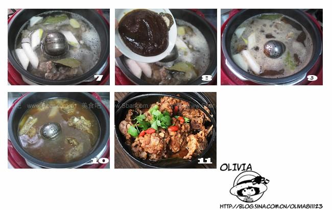 羊菜谱(电压力锅蝎子)欣佰润鲜胚玉米油图片