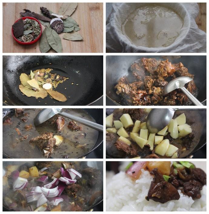 家庭版黄焖鸡米饭