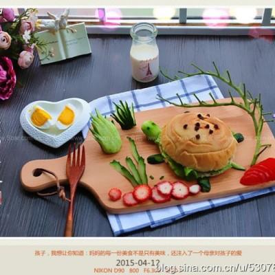 早餐创意摆盘