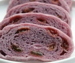 紫薯葡萄干卷