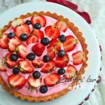 奶油草莓塔