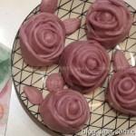 紫薯玫瑰面点