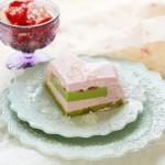 草莓乳酪抹茶蛋糕