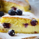 蓝莓香草魔法蛋糕