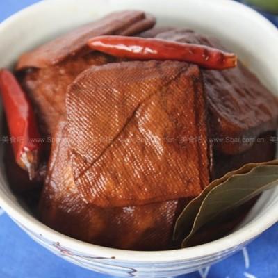 茶香卤豆腐干、麻辣豆腐干