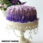 渐变缎带蛋糕