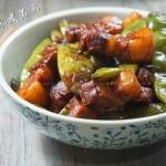 油豆角红烧肉(东北农家菜)