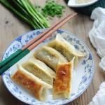 鲜肉韭菜锅贴