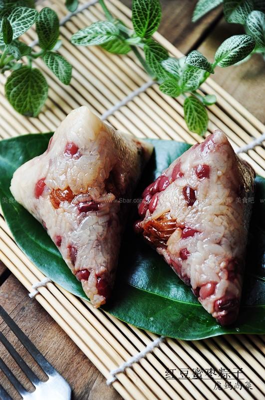 红豆蜜枣粽子