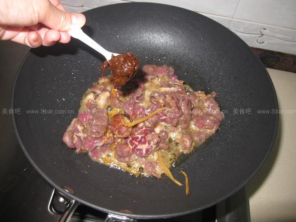 沙爹牛肉炒芥兰
