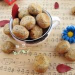 榛果黑芝麻酥饼