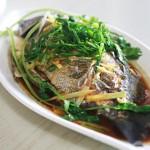 清蒸珍珠斑(高考食谱-鱼升龙门)
