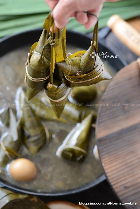 四角拎包粽