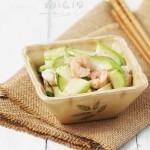瓠瓜蝦仁(夏日5分鐘的快手菜)