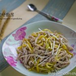榨菜肉丝(四川传统名菜)