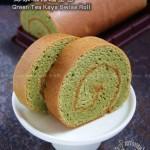 绿茶咖椰瑞士卷