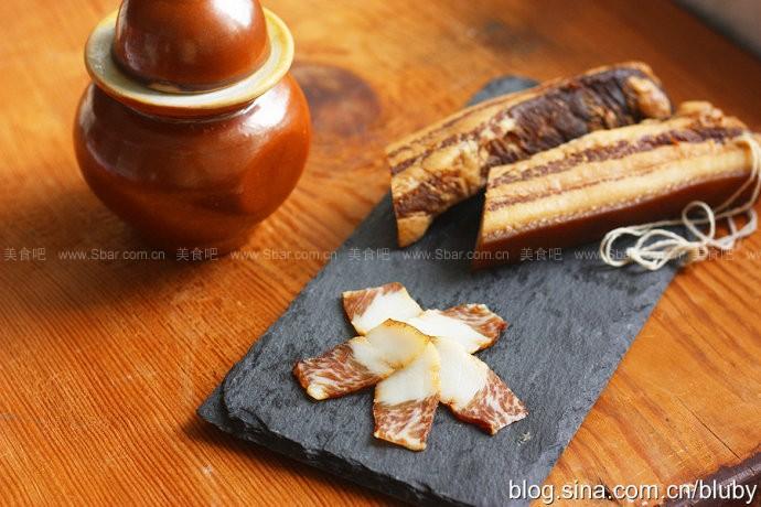 广式生晒腊肉