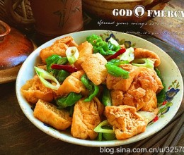 小炒豆腐果
