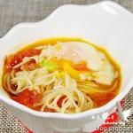 西红柿鸡蛋汤面(早餐菜谱)