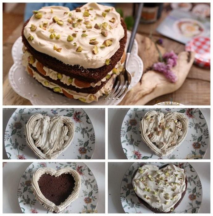 可可卡布奇诺坚果蛋糕