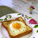 土司太阳蛋(早餐菜谱)