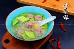 瓜片粉丝肉丸汤