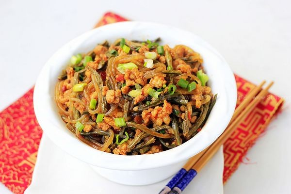 干豇豆炒粉条