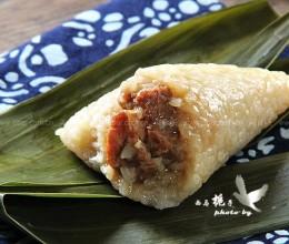 经典四角鲜肉粽子