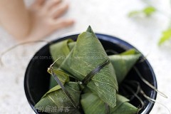 红豆红枣粽