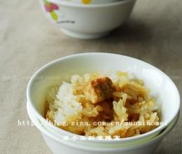香橙糯米蒸饭