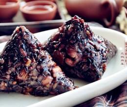 黑糯米蜜枣粽子