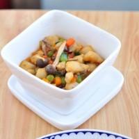 鮮蔬燴龍利魚