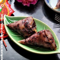 黑米紅棗粽子