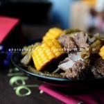 豆角玉米炖排骨